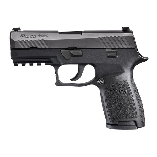 Sig Sauer P320 Compact 9mm Handgun with Night Sights and 3 Mags - W320C-9-BSS