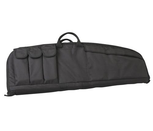 "Uncle Mike's Tactical Rifle Case 33"" Medium Nylon Black"