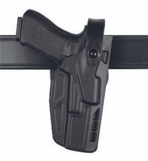 Safariland Model 7280 7TS SLS Mid-Ride, Level II Retention Duty Holster w/ Light