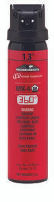 Def-Tech First Defense 360 Degree 1.3% MK-4 Stream OC Aerosol