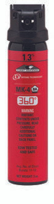 Def-Tech First Defense 360 Degree 1.3% MK-4 Stream OC Aerosol