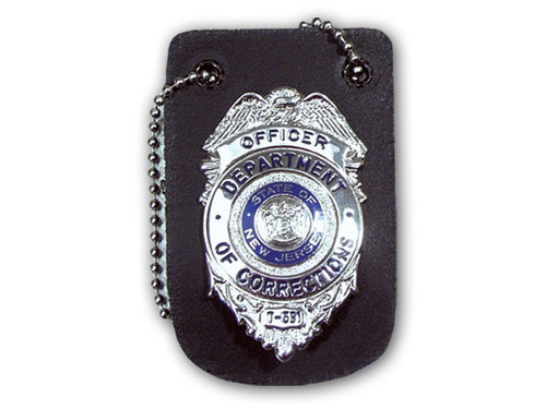 "Perfect Fit Neck Badge Holder w/ 30"" Chain"