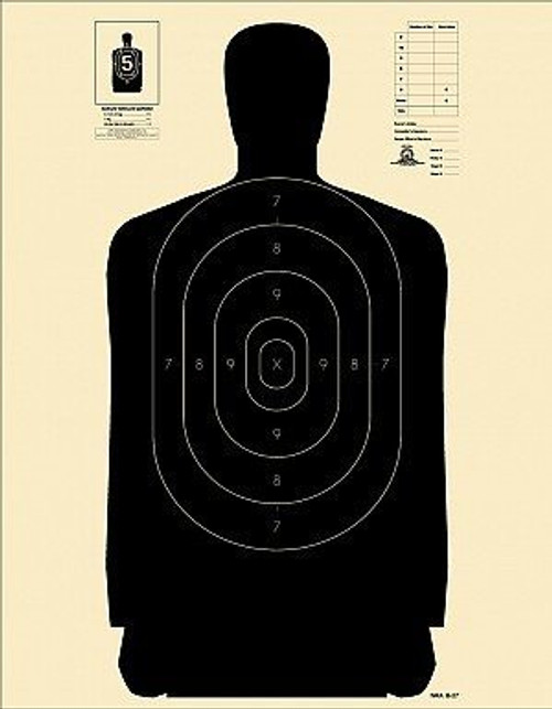 National Target B27 - 250 Targets
