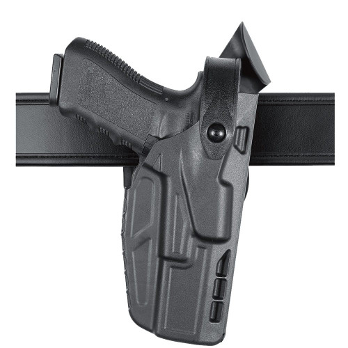 Safariland Model 7360 7TS ALS/SLS Mid-Ride, Level III Retention Duty Holster w/ Light