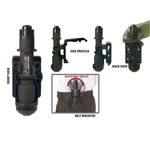 Blackhawk Night-Ops Flashlight Holder with MOD-U-LOK Platform - 75GH00BK