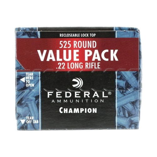 Federal .22 Long Rifle 36GR Hollow Point Copper Plated - 745
