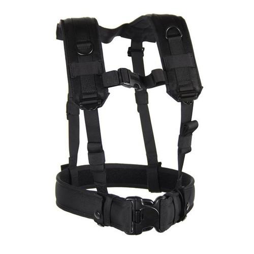 Blackhawk Load Bearing Black Suspenders - 35LBS1BK