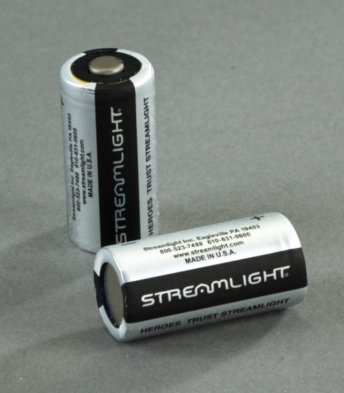 Streamlight 3V CR123A Lithium Battery