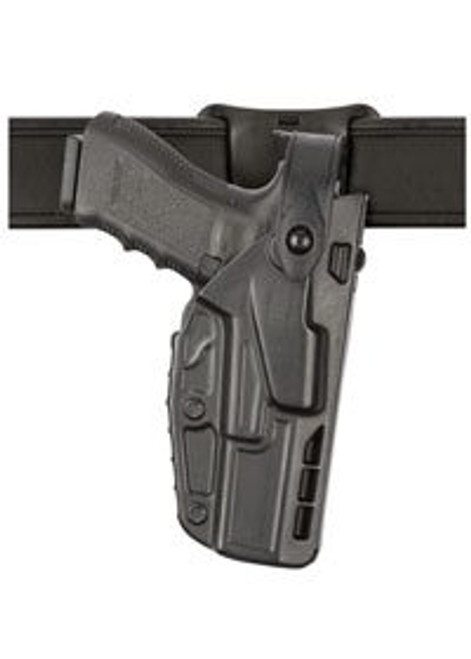 Safariland Model 7285 7TS SLS Low-Ride, Level II Retention Duty Holster w/ Light