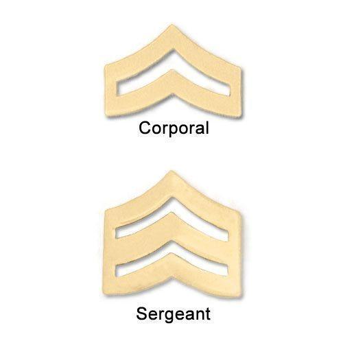 "Premier Emblem 3/4"" Police Style Chevrons"