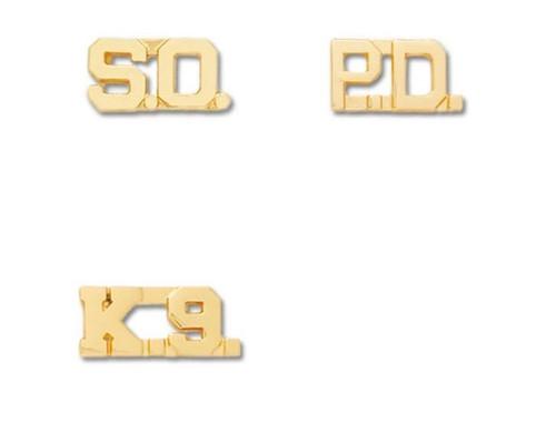"Premier Emblem 3/8"" Letter Insignia"
