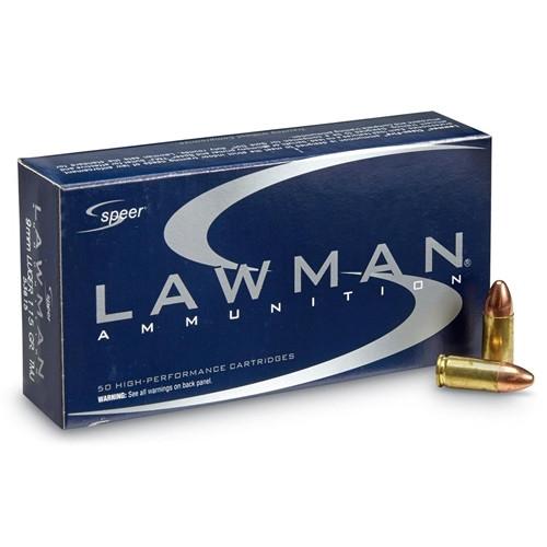 Speer 9MM 115GR Lawman Total Metal Jacket - 53650