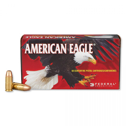 Federal 9MM 147GR American Eagle Full Metal Jacket - AE9FP