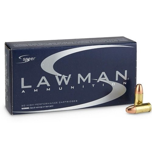 Speer 9MM 147GR Lawman Total Metal Jacket - 53620