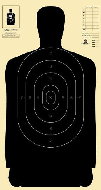 National Target B2724 - 250 Targets