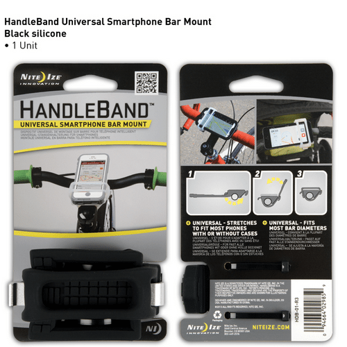 Nite-Ize HandleBand Universal Smartphone Bar Mount NIHDB-01-R3