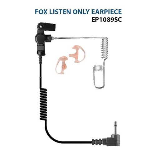 Ear Phone Connection Fox Surveillance Ear Phone - EP1089SC