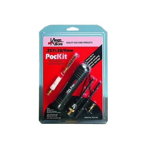KleenBore PocKit Cleaning Kit for .38/.357/9mm/.380 Handguns - POC-222