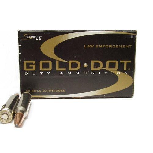 Speer .223 62GR Gold Dot Soft Point - 24445SP