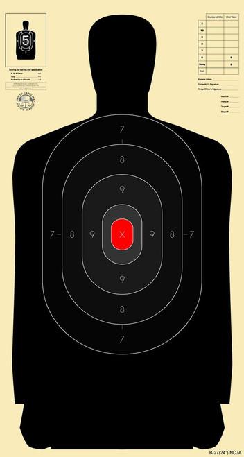 National Target B2724 NCJA - 250 Targets