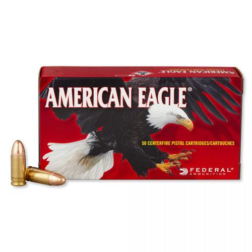 Federal 9MM 124GR American Eagle Full Metal Jacket - AE9AP