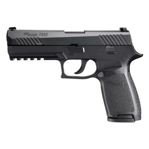 Sig Sauer P320 Full-Size 9mm Centerfire Handgun with Night Sights - W320F-9-BSS