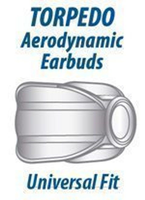 Ear Phone Connection Torpedo Aerodynamic Ear Buds - 3 Pack
