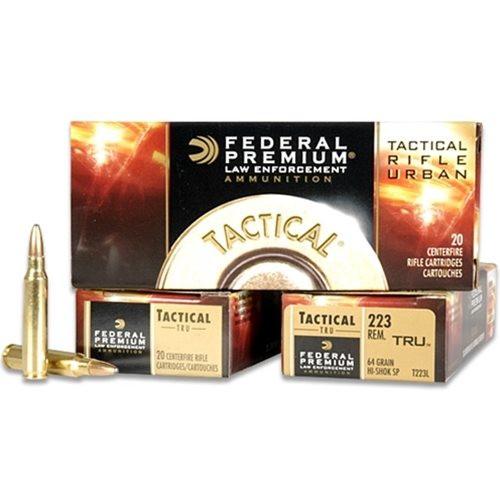 Federal .223 55GR - T223E