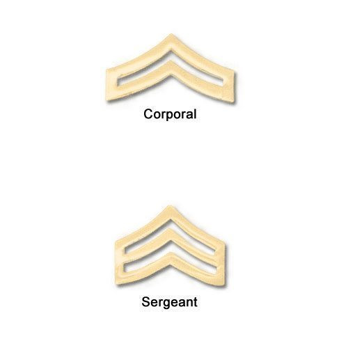 "Premier Emblem 1-1/4"" Police Style Chevrons"
