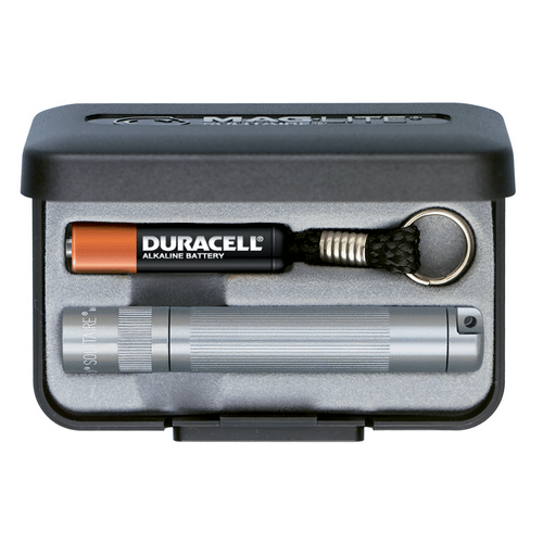 Maglite Pewter AA Solitaire Flashlight - K3A092