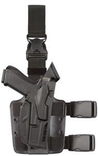 Safariland Model 7355 7TS ALS Tactical Holster w/ Quick Release & Light