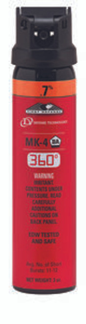 Def-Tech First Defense 360° .7% MK-4 Stream OC Aerosol