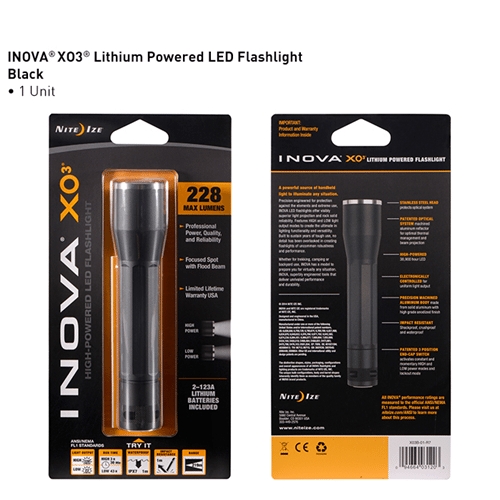 Nite-Ize INOVA X03 LED Flashlight - NIXO3B-01-R7