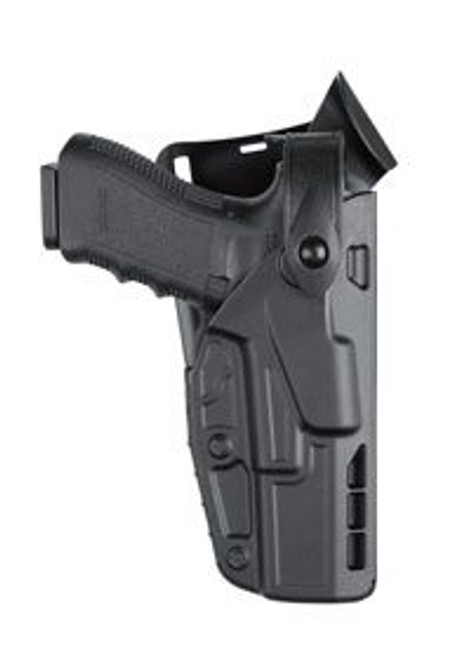 Safariland Model 7365 7TS ALS/SLS Low-Ride, Level III Retention Duty Holster w/ Light
