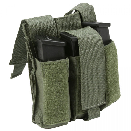 Protech Triple Side Arm Mag Pouch w/ Molle Attachment