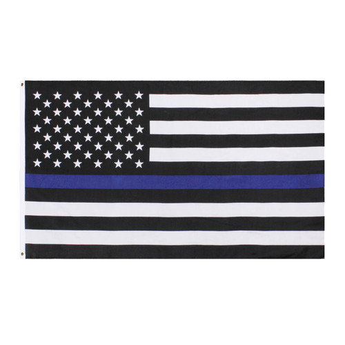 Thin Blue Line 2' x 3' U.S. Flag - 1516