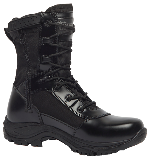 """Tactical Research Class-A High Shine 8"""" Side-Zip Boot - TR908Z"""
