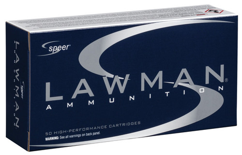Speer Lawman .40 S&W TMJ Clean-Fire Training Ammo