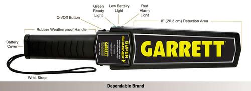 Garrett SuperScanner V Handheld Metal Detector - 1165190