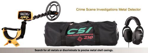 Garrett CSI 250 Crime Scene Investigator Metal Detector