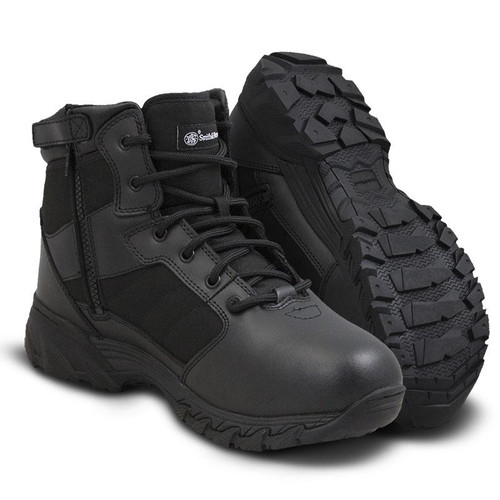 "Smith & Wesson Breach 2.0 6"" Side-Zip Men's Black Boot - 810301"