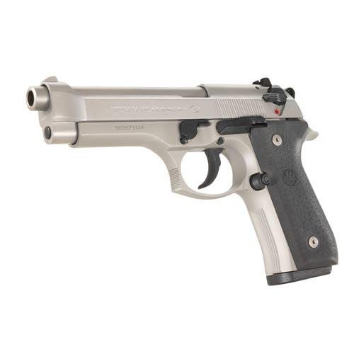 Beretta J90A9F24LE 92FS Inox 9mm Handgun with Trijicon Sights