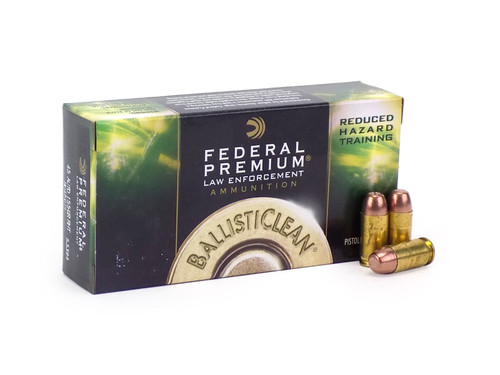 Federal Premium BC45CT1 Ballisticlean .45 ACP 155 grain Frangible RHT Ammo