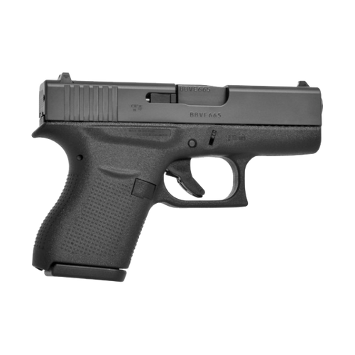 Glock PI4350202 43 9MM Blue Label Handgun with Fixed Sights