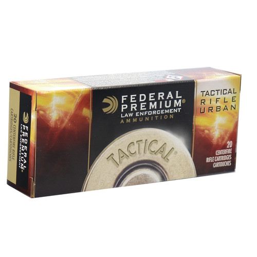 Federal T223L Tactical TRU 223 Remington 64gr Soft Point Ammo