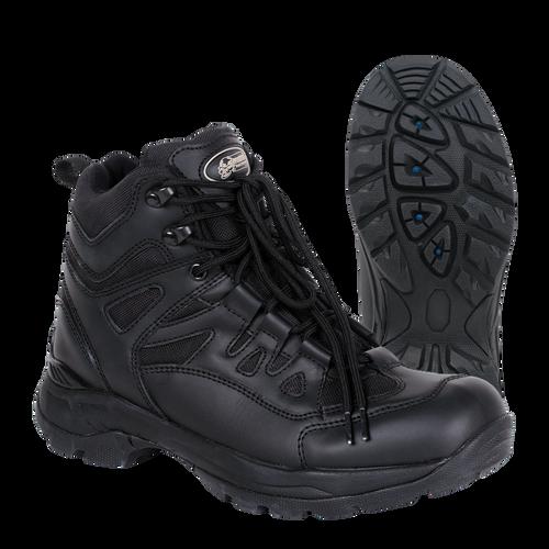 """Voodoo Tactical 049681001 6"""" Low Cut Tactical Black Boots"""