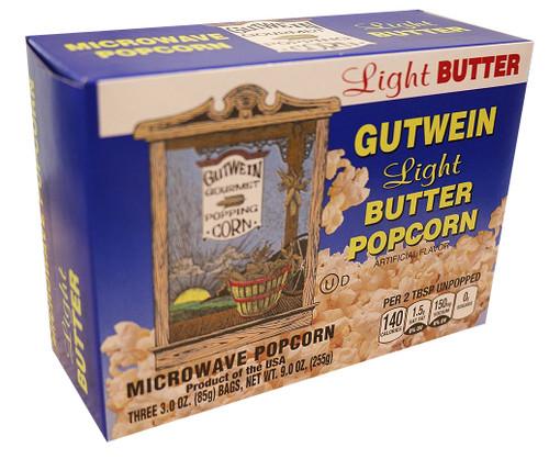 Light Butter Microwave Popcorn