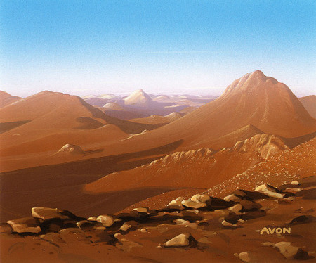 Mirage Sandy Mountains