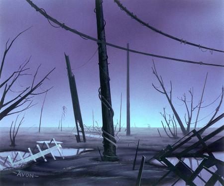 Urza's Saga Swamp A
