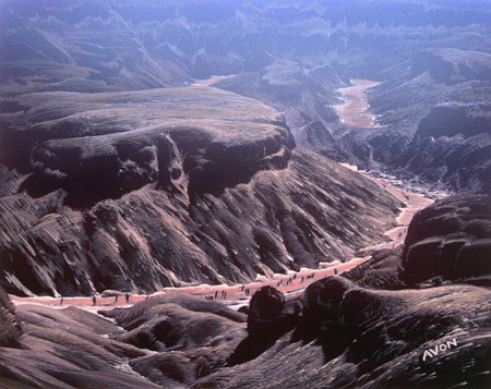 Winding Canyons